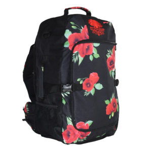 Wild Poppies 45L Carry-on Travel Pack