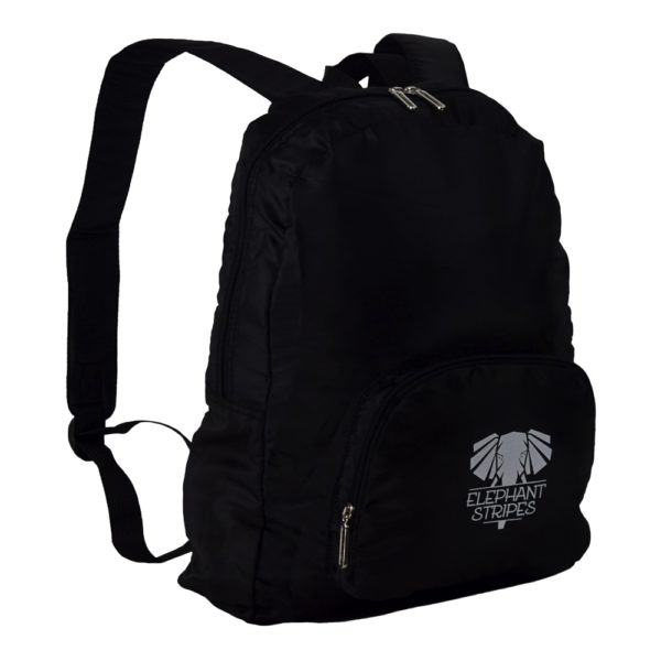 Fold Up Daypack Light Packable Daypack Black Backpack