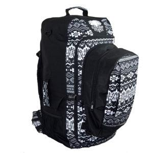 Geometric Explorer 65L Travel Pack with daypack