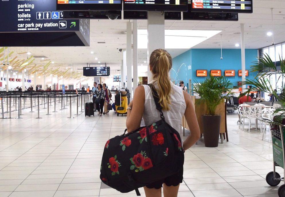 travel girl backpack