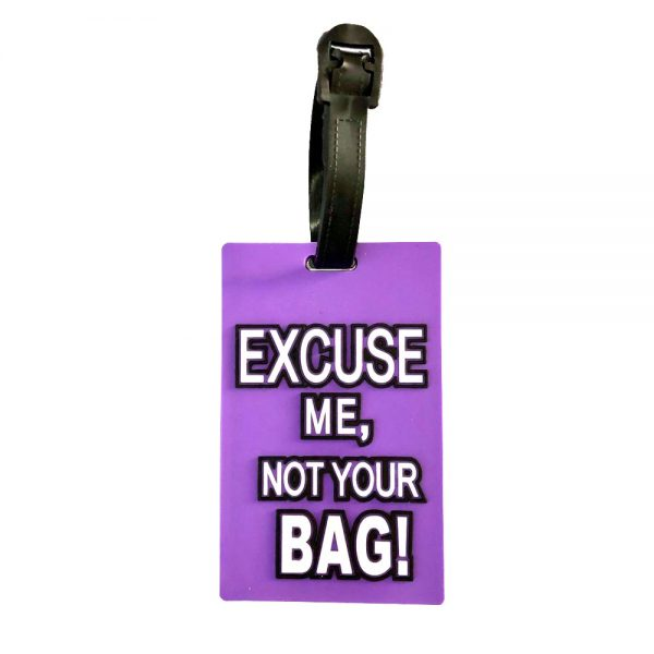 funny bag tag