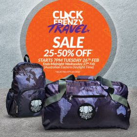 Maps travel bags