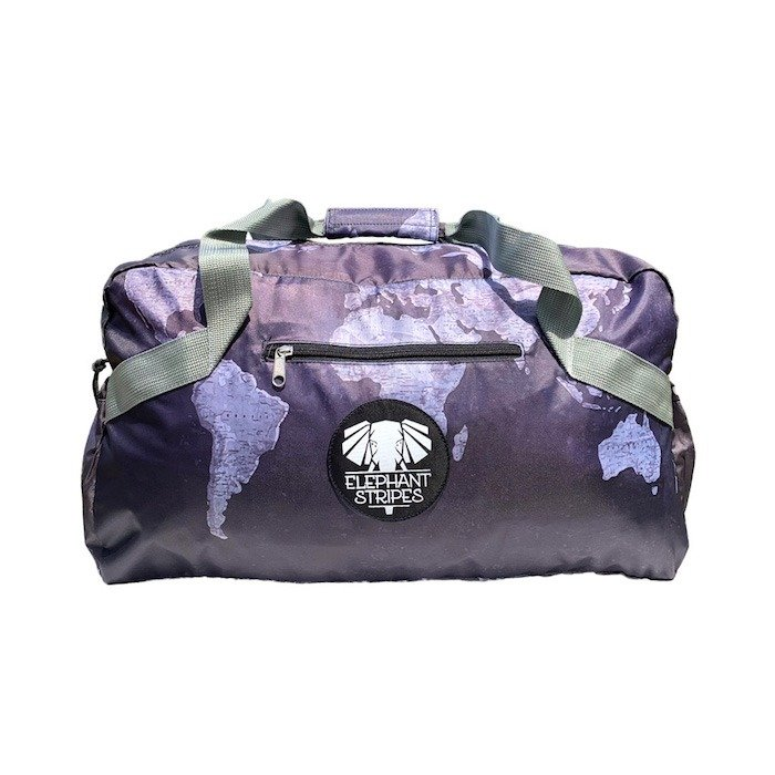 monochrome maps duffel bag