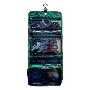 palm leaves toiletry case