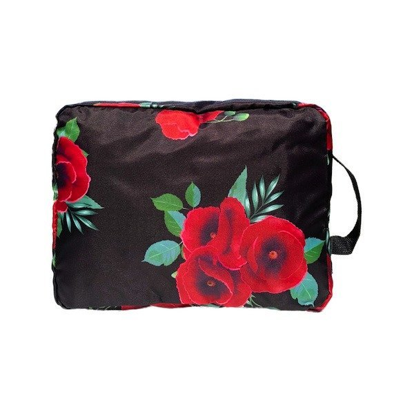 floral packing cubes