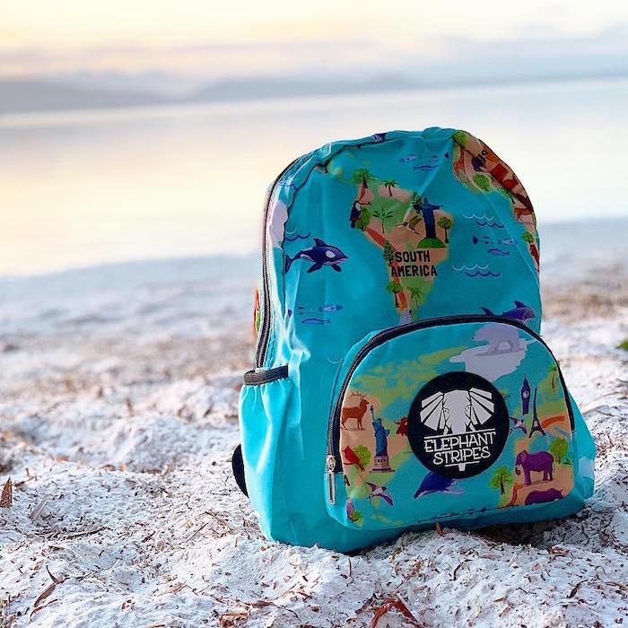 kids folding backpack