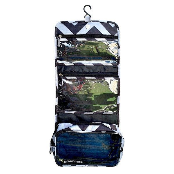 mens hanging toilet bag
