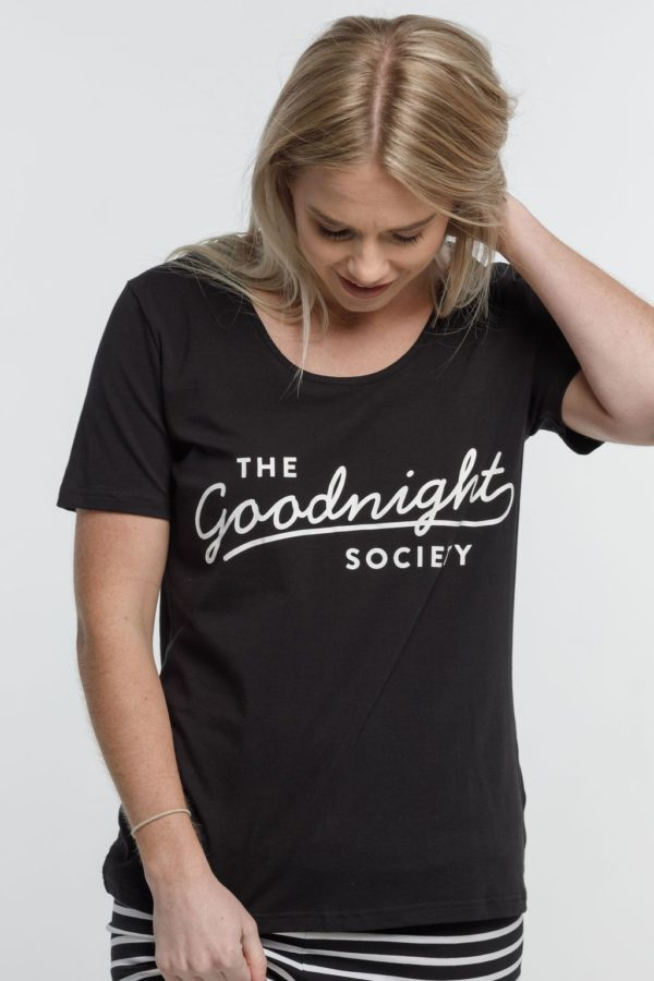 the goodnight society tee by home-lee