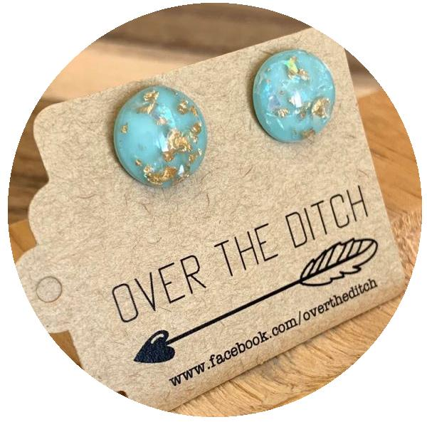 over the ditch earrings