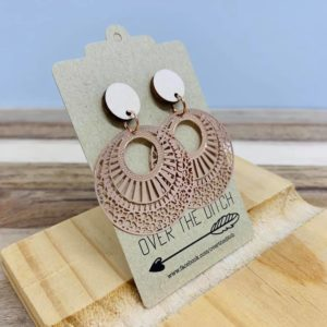 lola dangly earrings by over the ditch